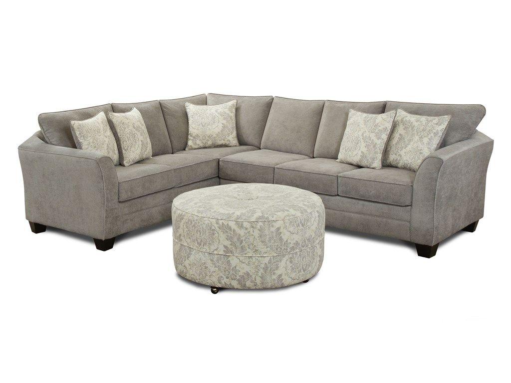 J Henry LLC Living Room London Sectional Right 930630
