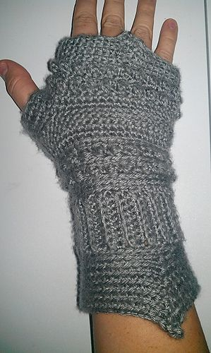 Medieval Texting Gloves Pattern By A Crocheted World My Style