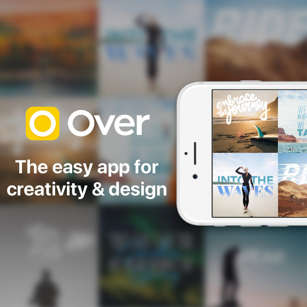Coole Design App zum schnellen Gestalten von Karten, Posts etc.