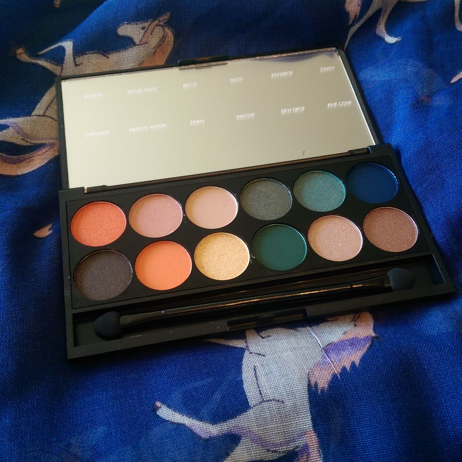 Sleek Onto The Horizon Ltd Edition Palette Review with Arm