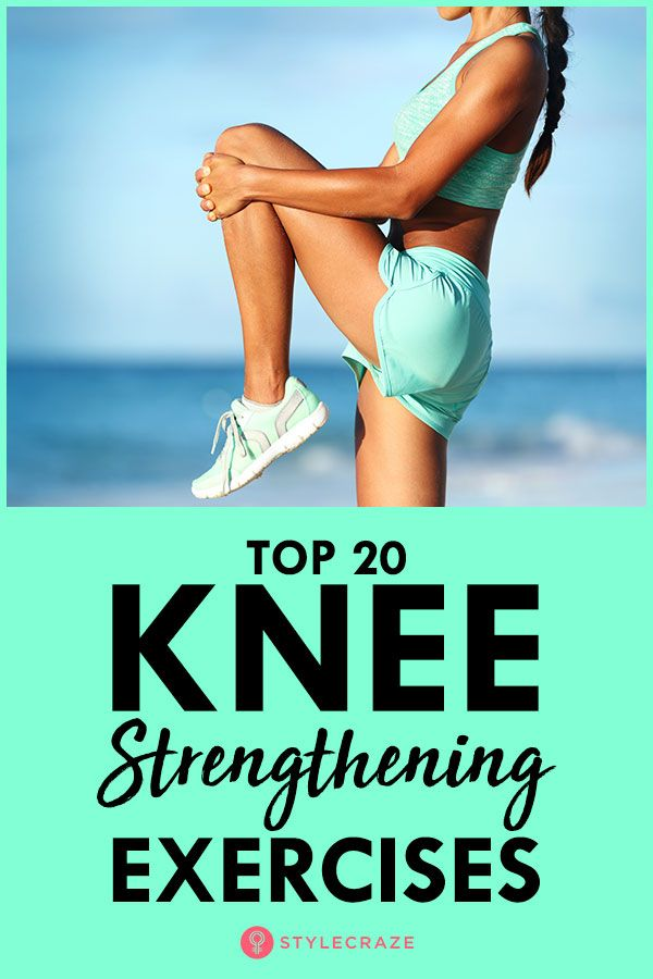 Top 20 Knee Strengthening Exercises #strengtheningexercises