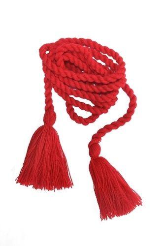 Пояс-мотузка червоного кольору 20242d3b0a50e
