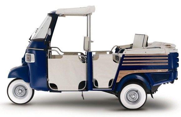 nissan leaf and the future of auto shows | piaggio ape, vespa and