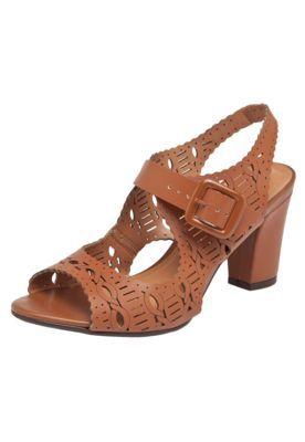 314678ce9 Sandália Vizzano Laser Baixa Caramelo | Sapatos, bolsas e acessórios ...