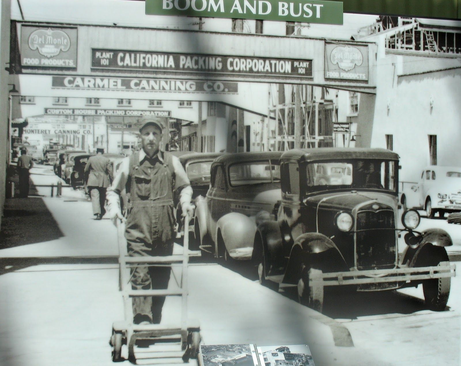 best images about cannery row props costumes set design on cannery row monterey 1930s interesting contrast between this and the current street shot