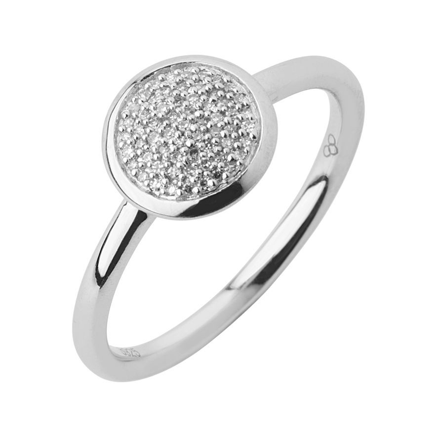 Diamond Essentials Pave Ring Links of London Jewellery Rings and
