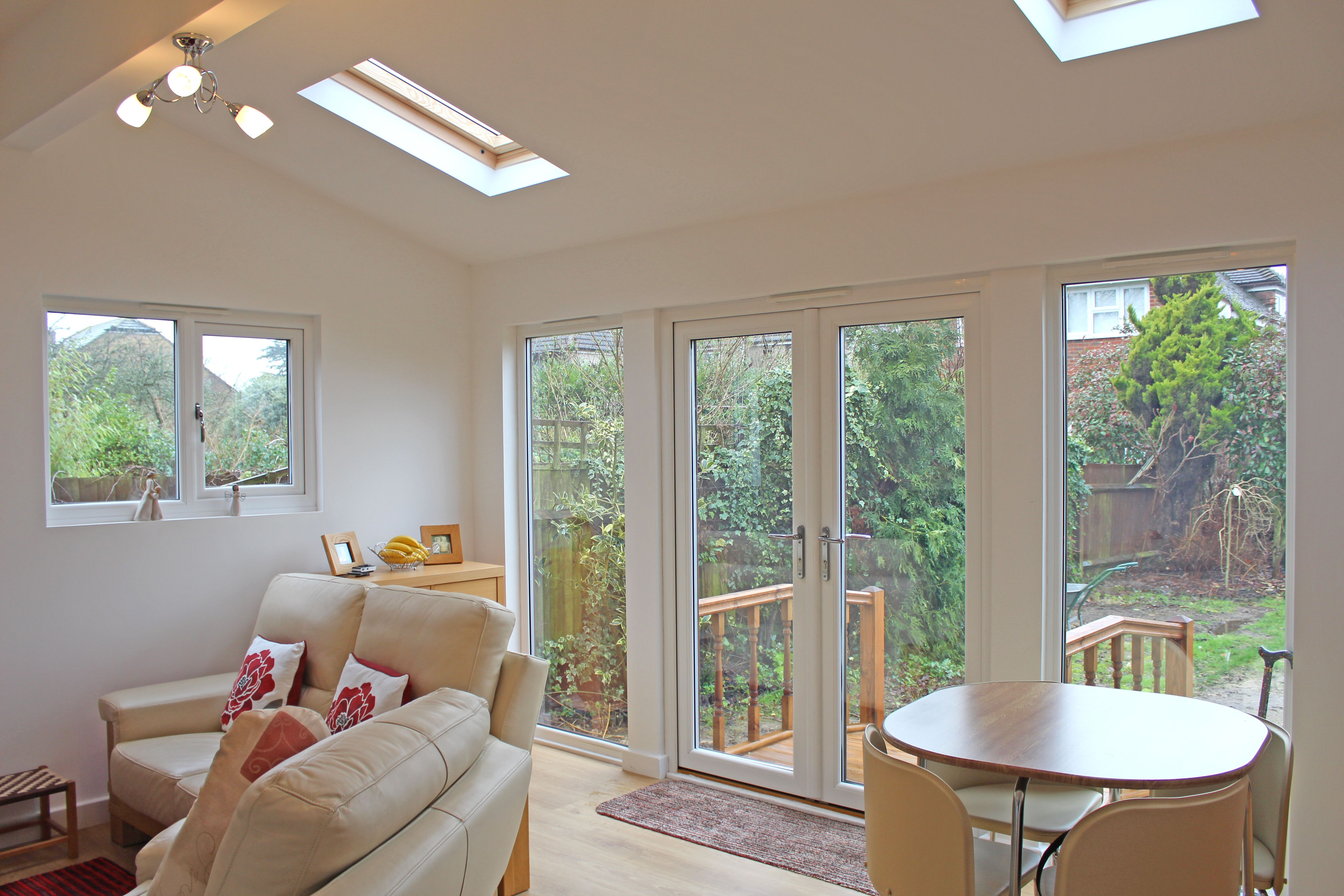 Granny Annexe Interior In Kent, UK. Granny Annexe Built By