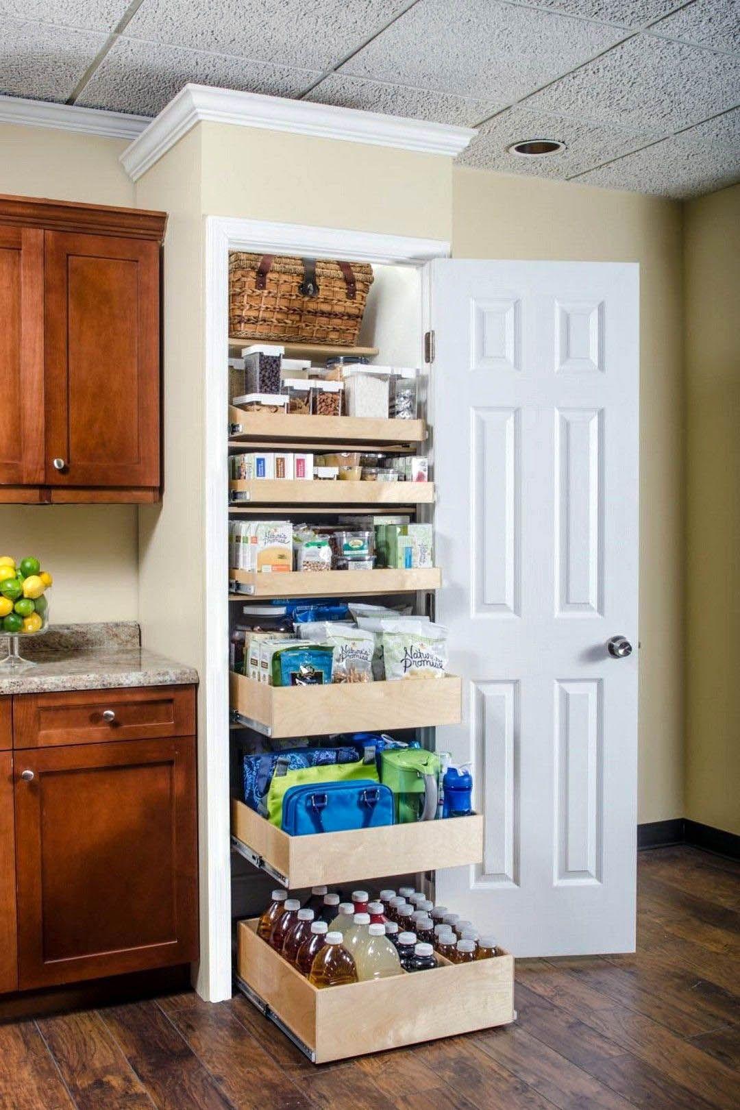 Unfamiliar Horizontal Kitchen Storage Cabinets Just On Smarthomefi Com Pantry Design Diy Kitchen Storage Pantry Organizers
