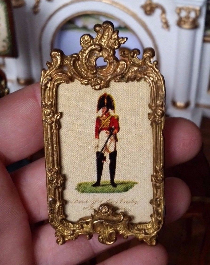 Antique dollhouse miniature erhard sohne picture frame ormolu antique dollhouse miniature erhard sohne picture frame ormolu ebay jeuxipadfo Gallery