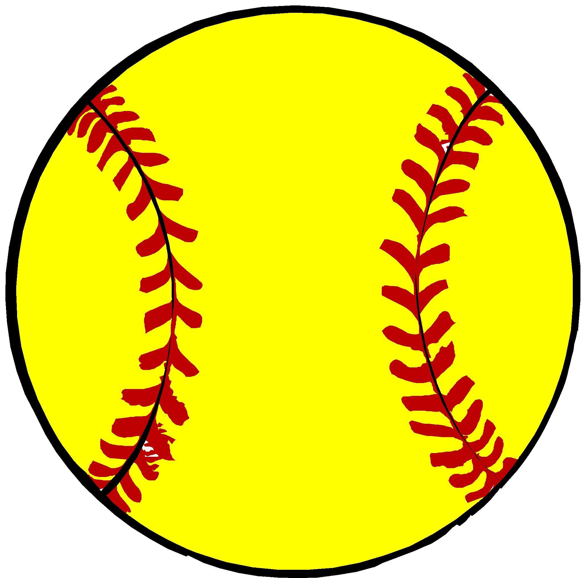 Bonita Vista Middle School Softball Softball Clipart Wooden Door Hangers Softball