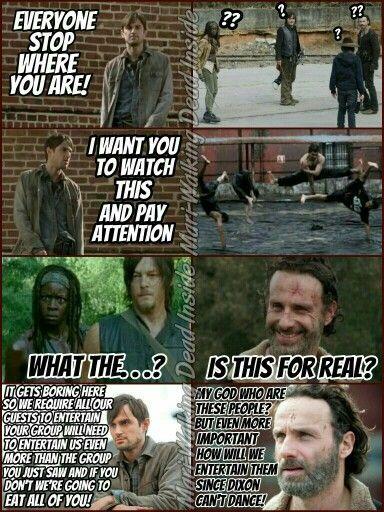 The Walking Dead Memes Terminus Daryl Dixon Rick Grimes Carl