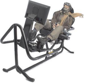 Flight Sim Chair Home Decor