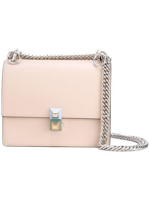 14676d0f7db6 FENDI Kan I small.  fendi  bags  shoulder bags  leather