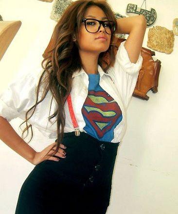Disfraz Clark Kent Chica Diy Disfraces Halloween Mujer Disfraces Superheroes Mujer Disfraz Mujer