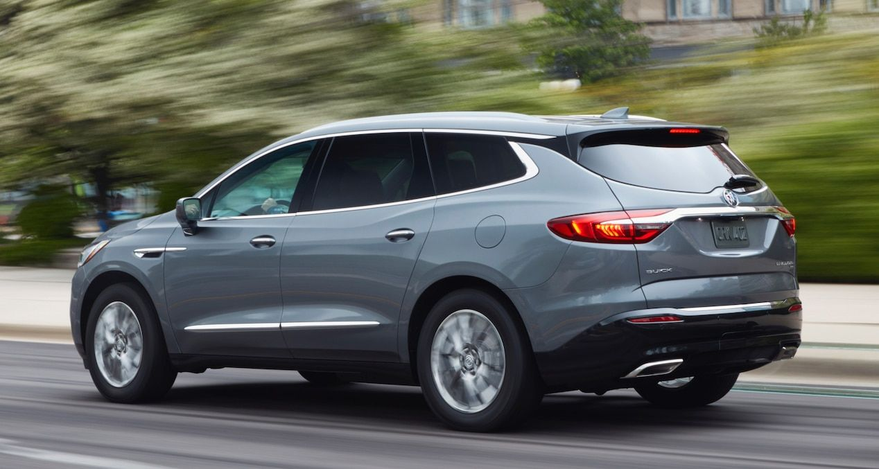 2018 Enclave midsize luxury SUV 5 link. Buick enclave