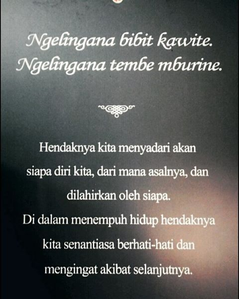 Once Upon A Time In Jogja Javanese Quotes Javascript