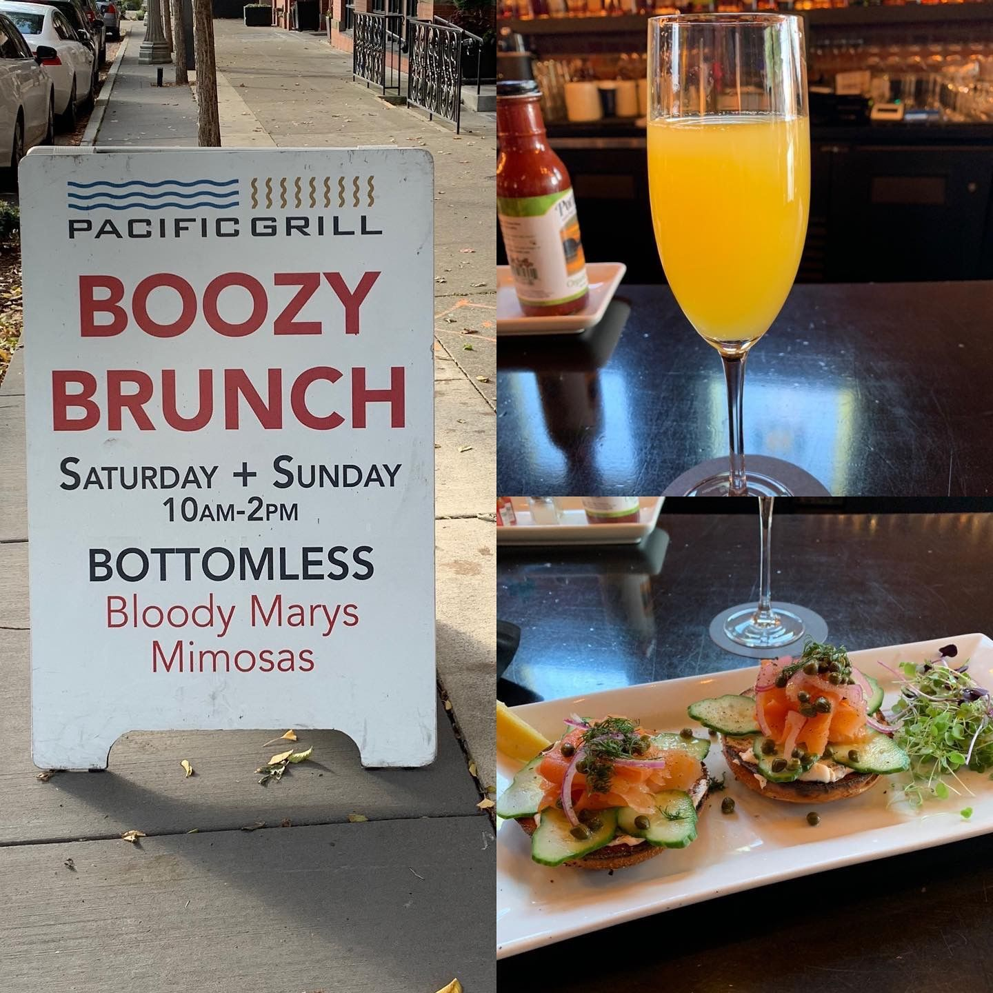 Bottomless Mimosas Happy Hour Food Boozy Brunch Brunch
