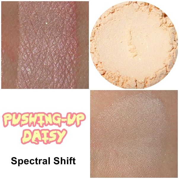Pushing-up Daisy Spectral Shift