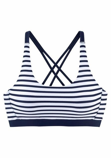 Photo of Venice Beach bustier bikini top »Summer«, with crossed straps online OTTO