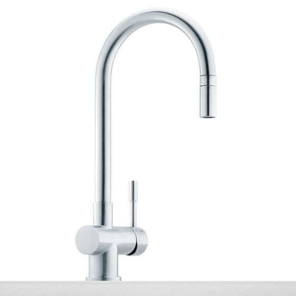 Franke Leda single lever mixer with pullout spout, projection 183 mm - wasserhahn küche niederdruck