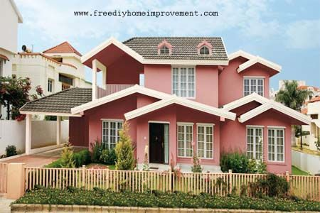 Paint Colours For Exterior Walls Home Outside Colour Stylish House