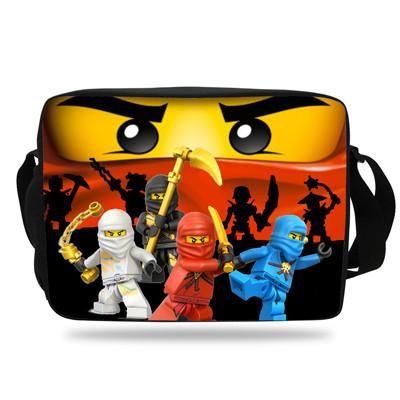 Cool Cartoon Bag For School Kids Messenger S Boys Ninjago Single Shoulder Children Student Age