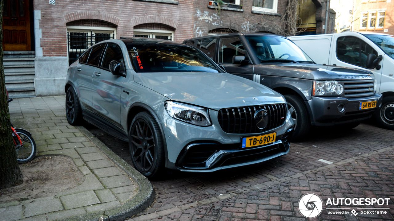 Mercedes Amg Glc 63 S Coupe Edition 1 C253 Mercedes Amg