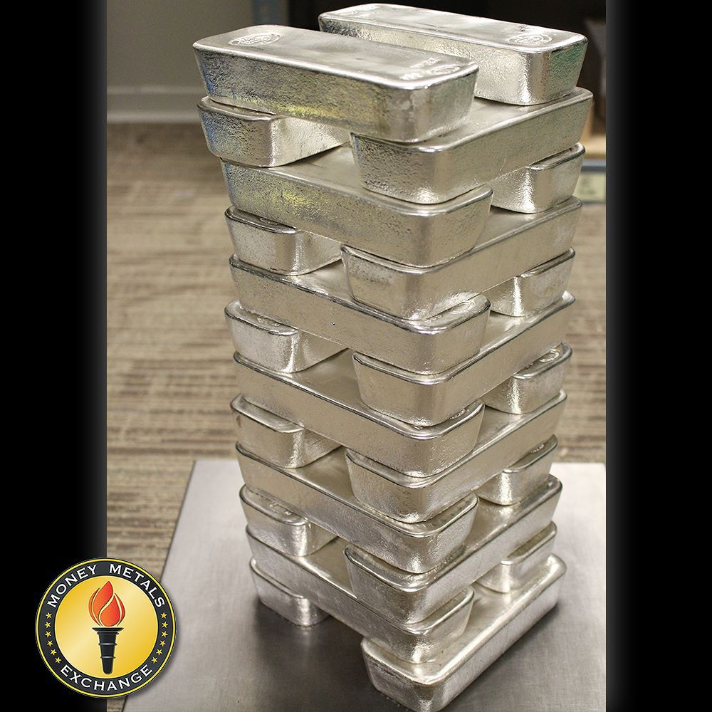 100 Oz Silver Bars For Sale 100 Troy Weight Bullion Money Metals Exchange Silver Bars Silver Dollar Coin Gold Reserve