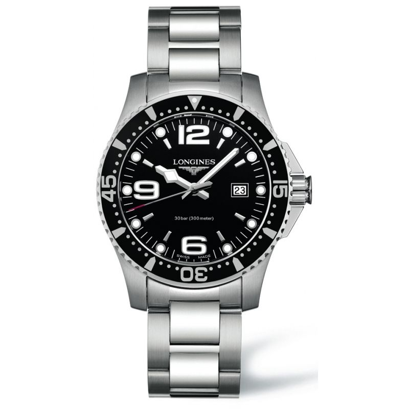 LONGINES HYDROCONQUEST L3.640.4.56.6 #reloj #watch