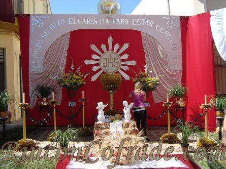 Altares para corpus christi buscar con google o tarze for Casa al dia decoracion