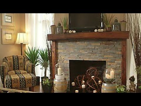 Budget Friendly Stone Fireplace Makeover Diy Network Youtube With Images Diy Fireplace Makeover Stone Fireplace Makeover Fireplace Makeover