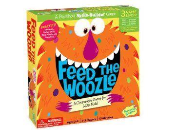 Kid's Board Game - Feed the Woozle Preschool Skills Builder Game:Amazon:Toys & Games