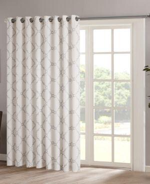 Madison Park Saratoga 100 Sliding Door Curtains Patio Door Window Treatments Sliding Patio Doors