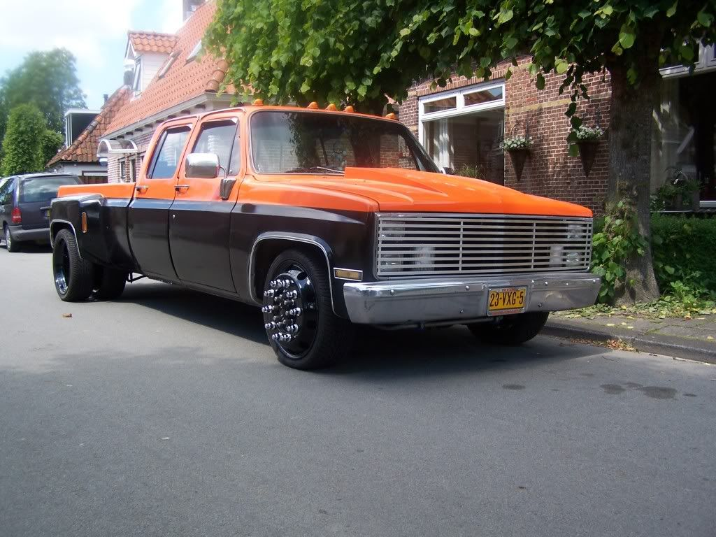 All Chevy 1965 chevy c30 : How bout some pictures of '73-'87 regular cab dually - Page 2 ...