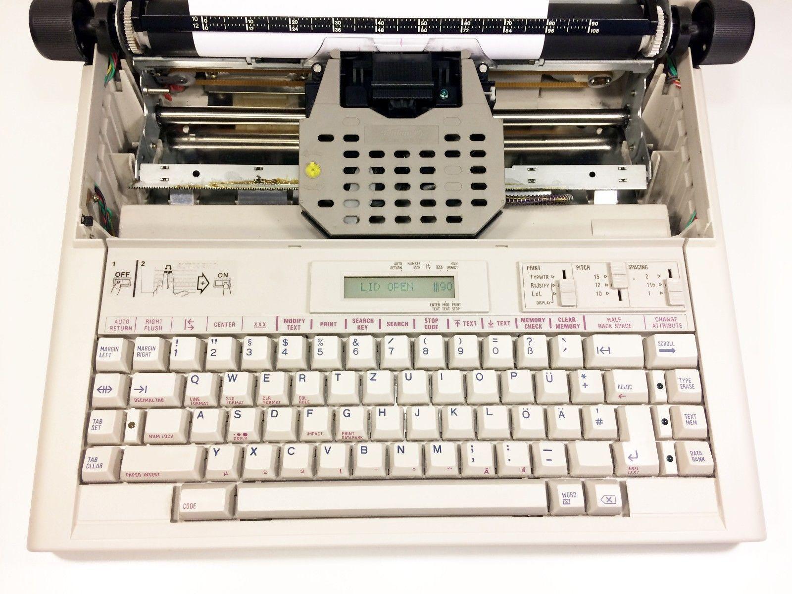 Olivetti Pt 506 Schreibmaschine Top Zustand Neues Farbband Inkl Ebay S Izobrazheniyami
