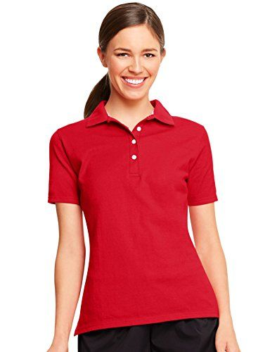 Womens XL Red Polo Shirt | Red polo shirt, Clothes, Polo shirt women