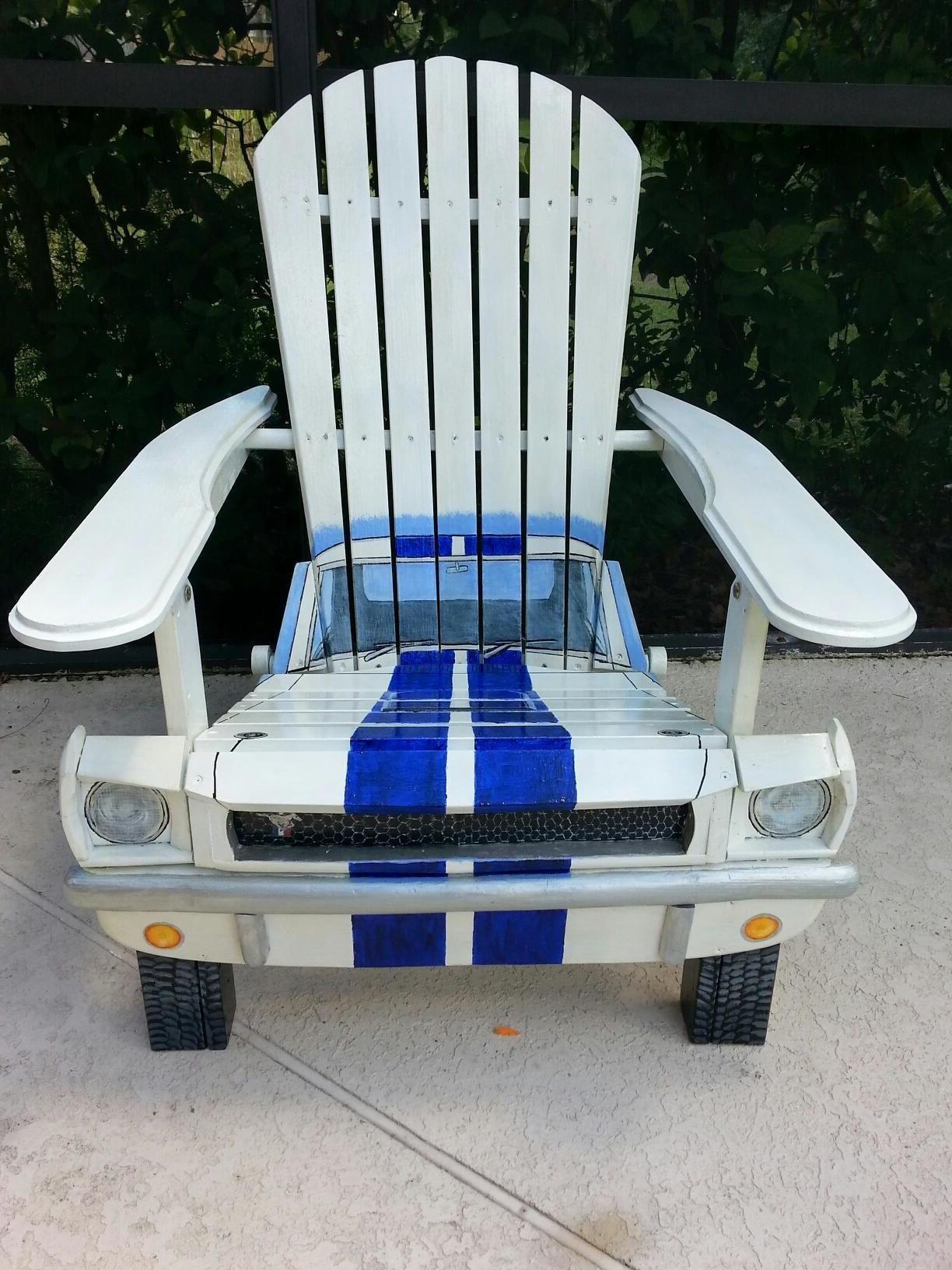 Recycling Möbel aus Autoteilen: 46 super kreative Ideen!