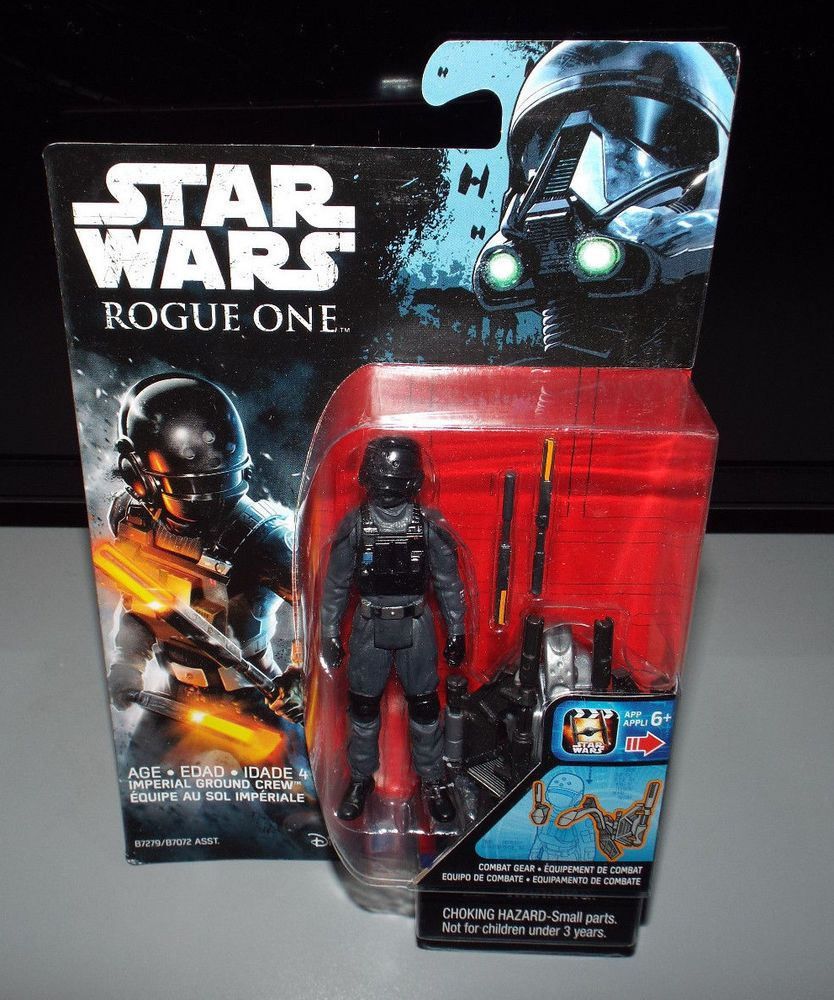 Action- & Spielfiguren Star Wars Rogue One Imperial Ground Crew Figure Hasbro New