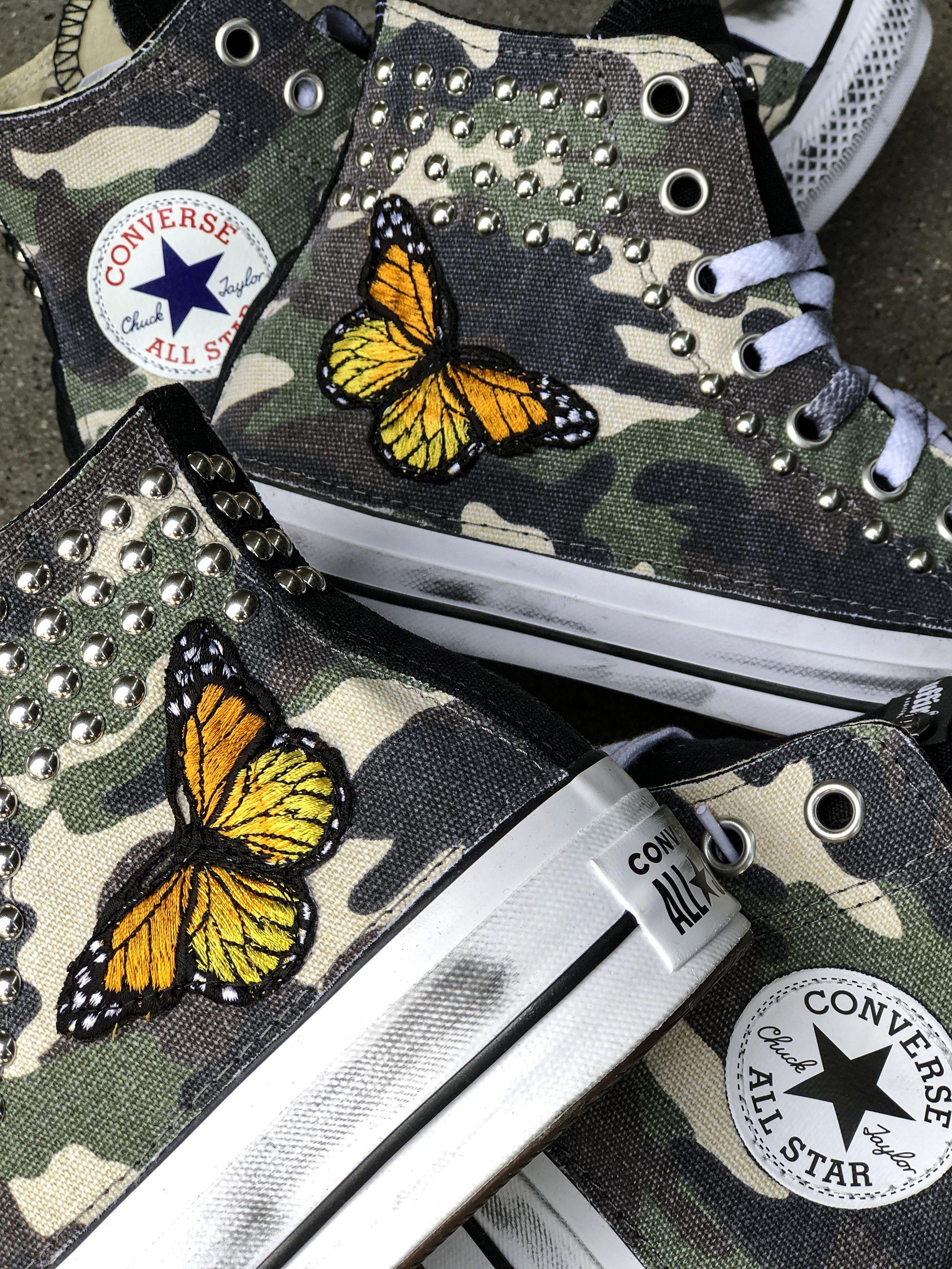converse farfalle