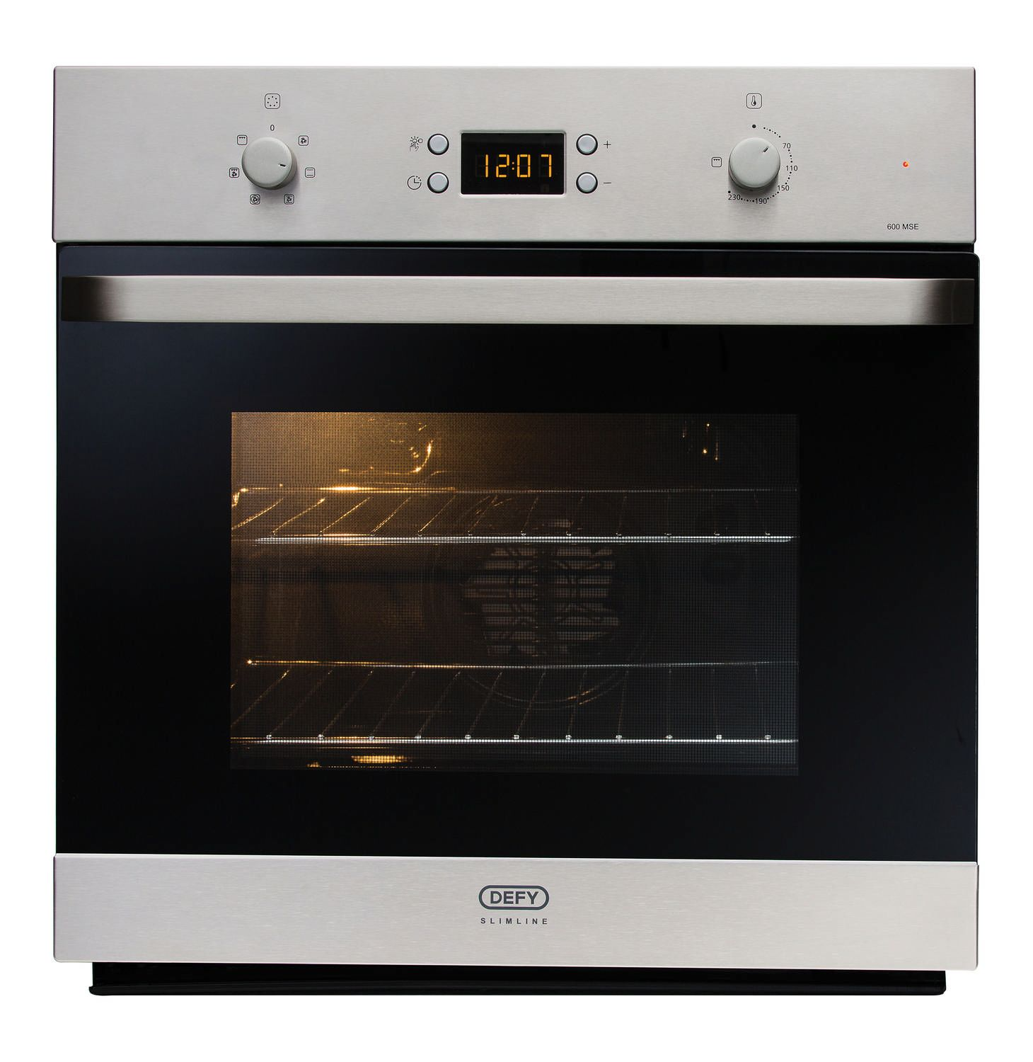 Defy 600mm Mse Slimline Oven Stainless Steel Dbo463 Lowest Prices Specials Online Makro