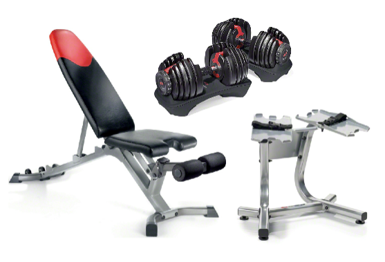 Bowflex Selecttech Dumbbell Stand With Media Rack 119