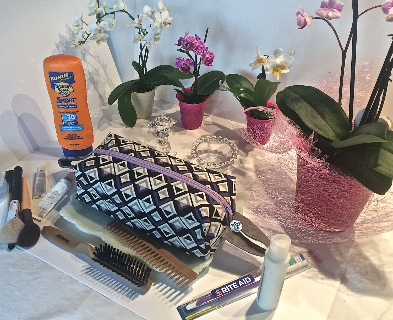 Cosmetic Makeup Bag Makeup Cosmetic Bag Cosmetic Makeup Organizer Makeup Cosmetic Organizer Jagged Edge Square Boxy Make Up Organizer Case by lily4carol on Etsy