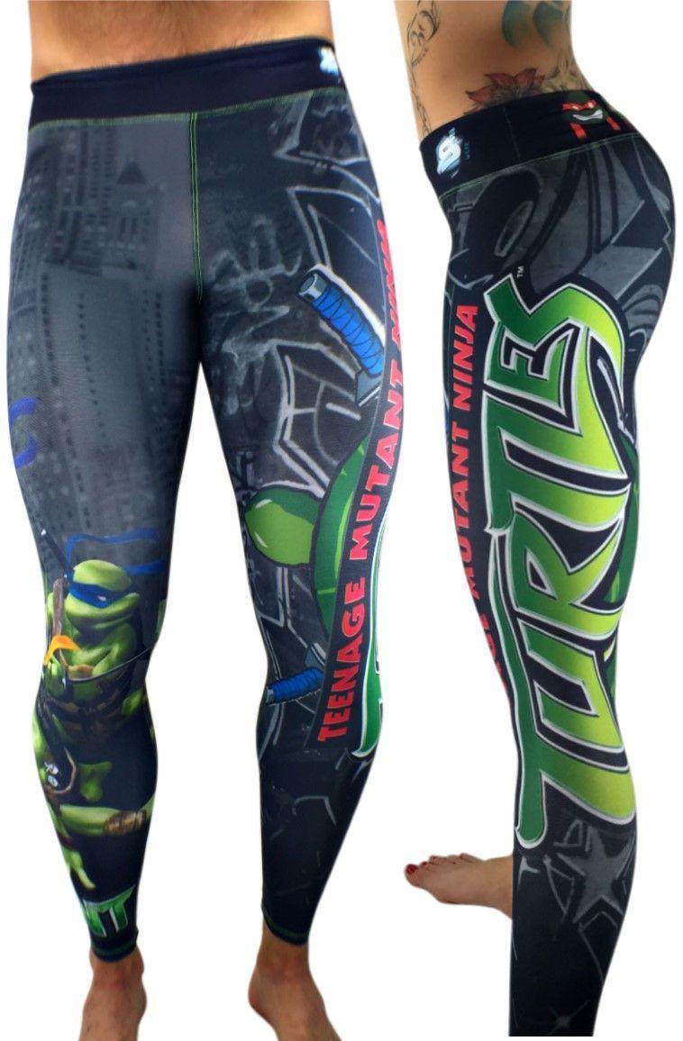 d20bfc7e31 S2 Activewear - UNISEX Teenage Mutant Ninja Turtles Leggings - Roni Taylor  Fit