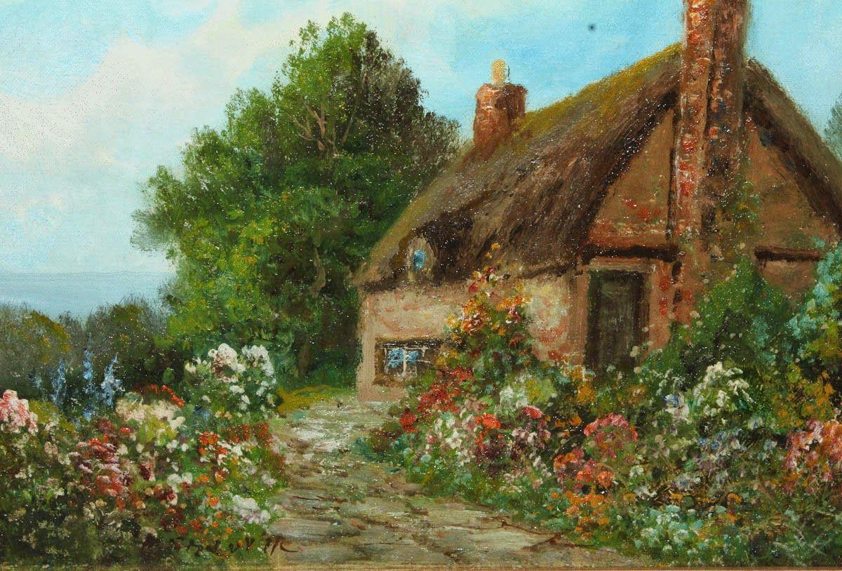 English Country Garden by Daniel Sherrin | Art | Pinterest | English ...
