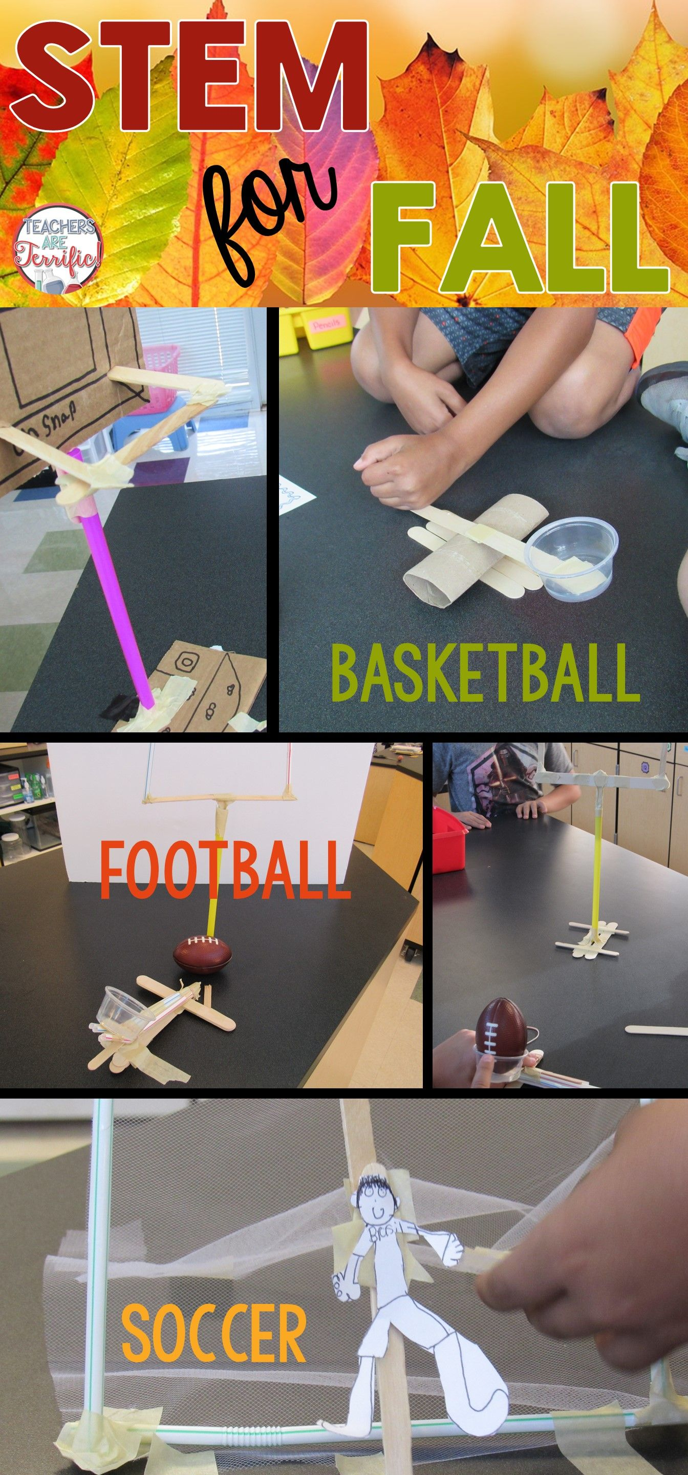 Sports Bundle Stem Challenges