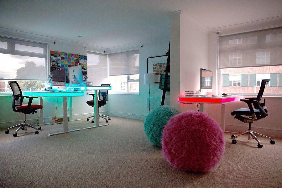 tableair: smart standing table w/ lighting + app | tableair: best, Attraktive mobel