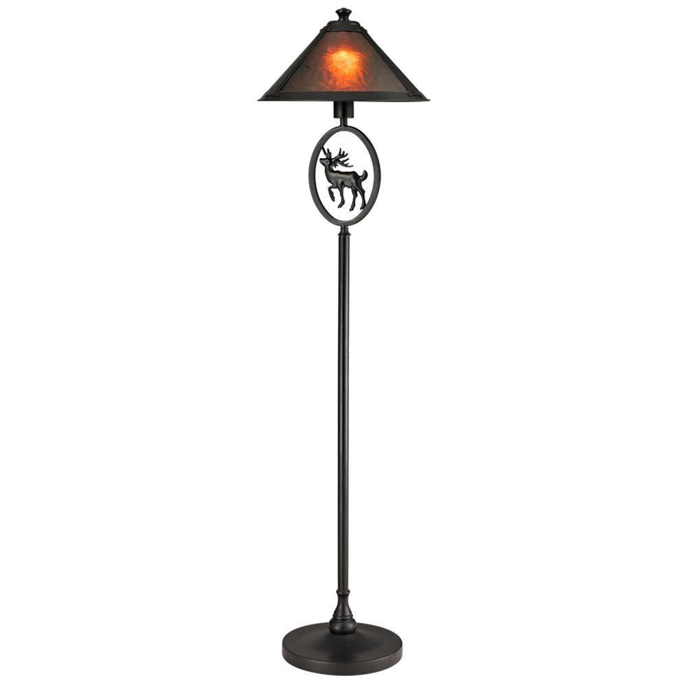 Moose Floor Lamp Dale tiffany 57 14 in moose brown mica floor lamp moose floor moose brown mica floor lamp audiocablefo