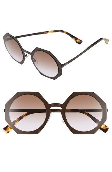 f4762026a4cfb Fendi 51mm Retro Octagon Sunglasses available at  Nordstrom ...