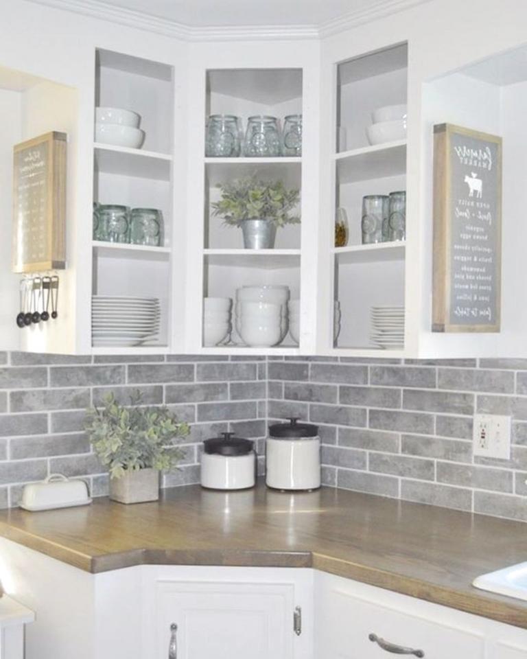 Farmhouse Kitchen Backsplash Ideas 40 Farmhouse Kitchen Backsplash Kitchen Backsplash Designs Farmhouse Kitchen Decor