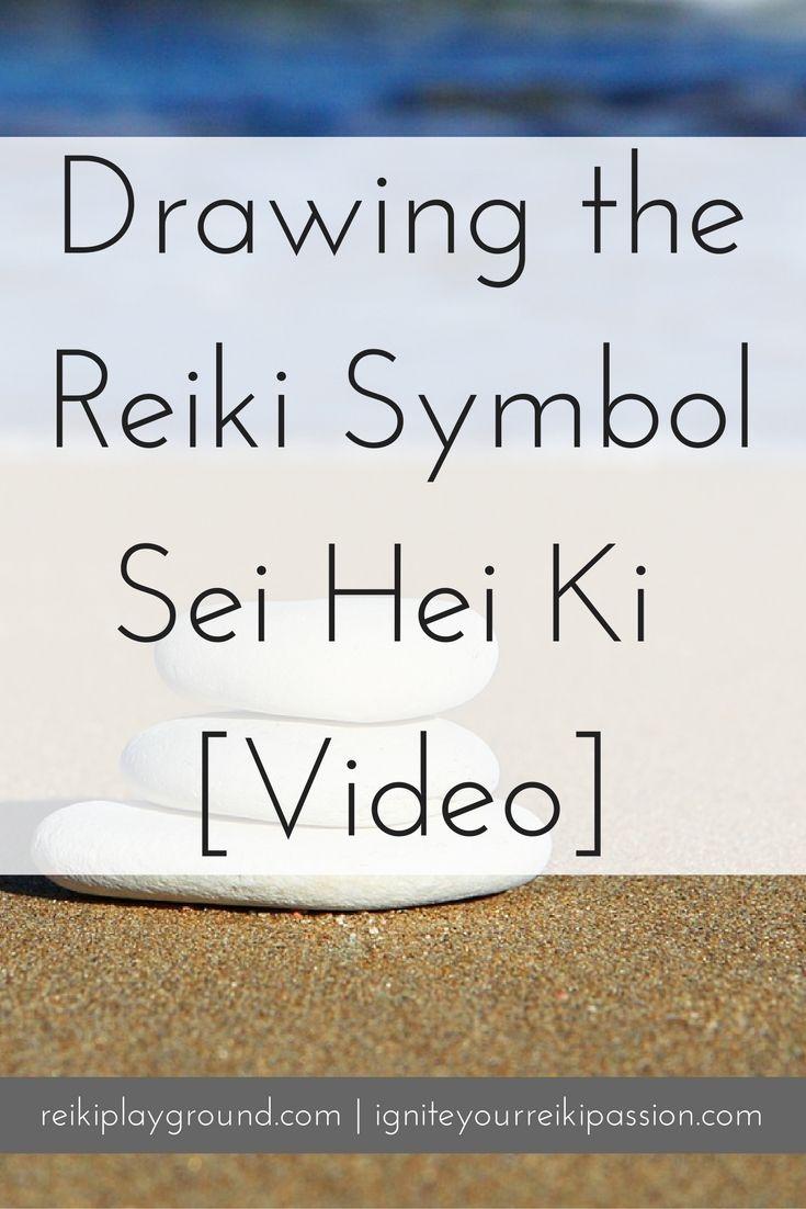 Drawing the reiki symbol sei hei ki video reiki symbols and chakras drawing the reiki symbol sei hei ki video buycottarizona Choice Image